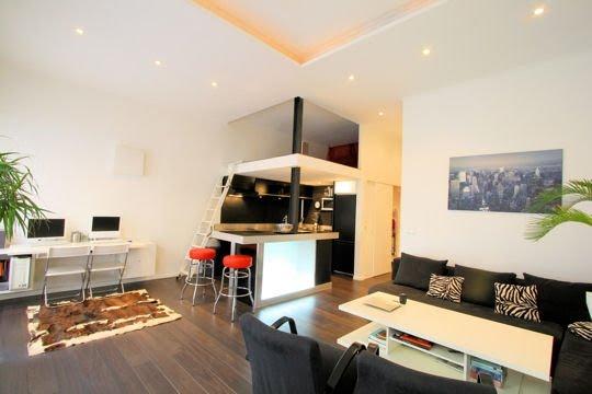 Mezzanine ideias decora o ideias decora o mobili rio - Deco petit appartement moderne ...