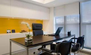 Recepção escritório | Ideias decoração mobiliário