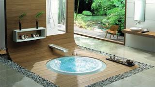 Ideias de decoração e mobiliario | casa de banho com SPA