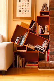 Ideias de decoração e mobiliário | Apoio extra com caixas de madeira.