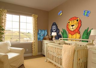 ideias decoração mobiliário | Adesivos decorativos para quarto de bebé