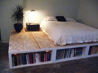 Ideias decoração mobiliário | cama casal arrumação extra