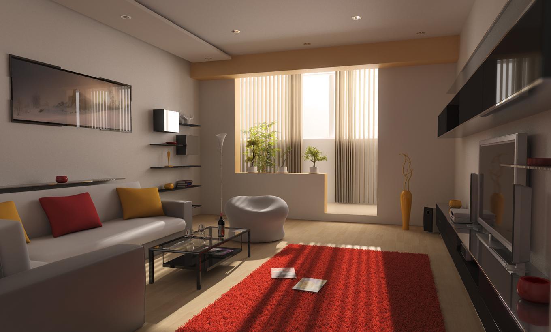 decoracao de sala unica:Jogue com as cores em sua casa, crie um ambiente harmonioso ligando a