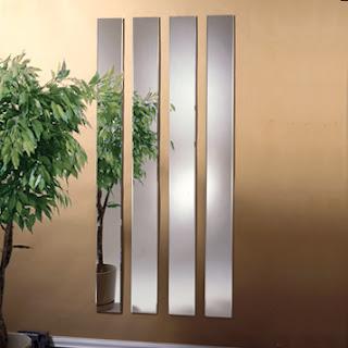 Espelhos decorativos verticais