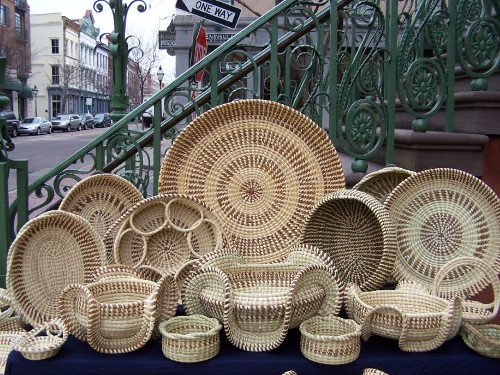 How To Weave A Sweetgrass Basket : Self taught sc an ethological artistic survey january