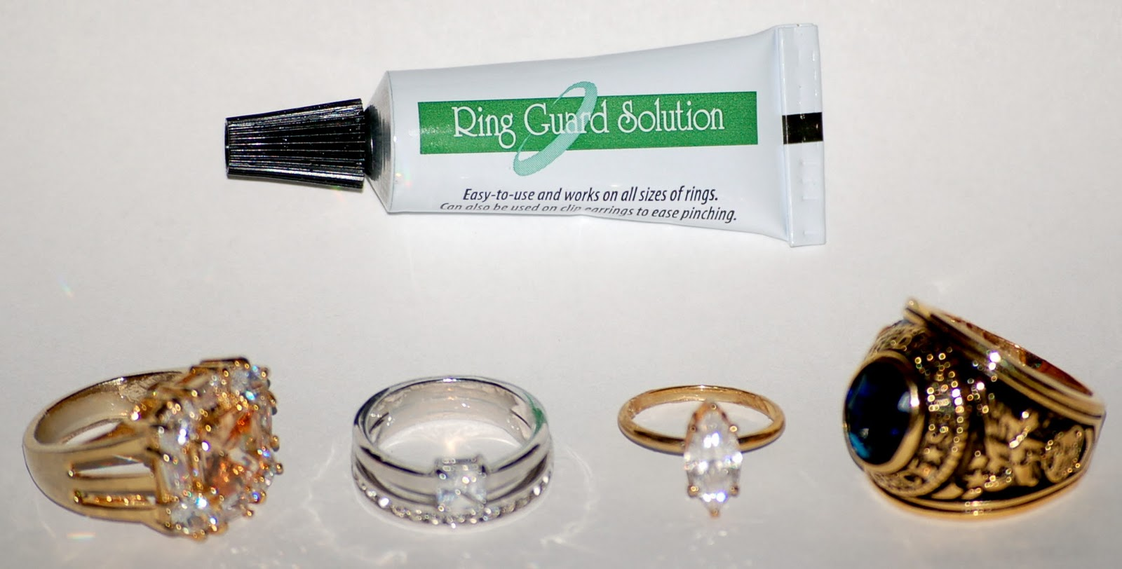 Ring Guard Solution Holds That New Ring Tight