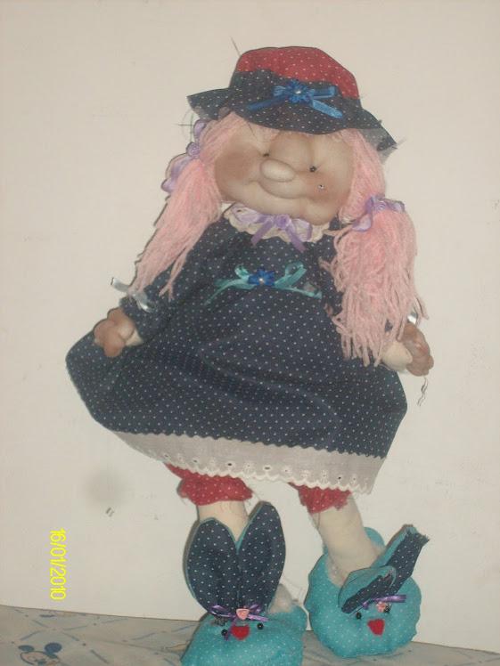 Muñeca en Pantuflas