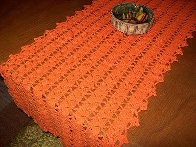 Del taller al mundo 2 camino de mesa y cortina en crochet for Camino mesa moderno