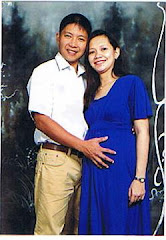 Dad, Mom & Johann (in the womb) @ 7 months....