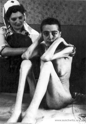 Survivor of Auschwitz concentration camp