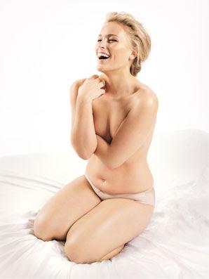 Lizzi Miller, Glamour magazine, September 2009