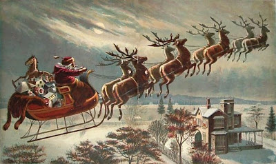 St. Nicholas, reindeer