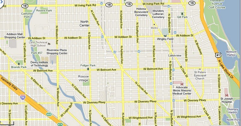 21 perfect Chicago Street Map – bnhspine.com on