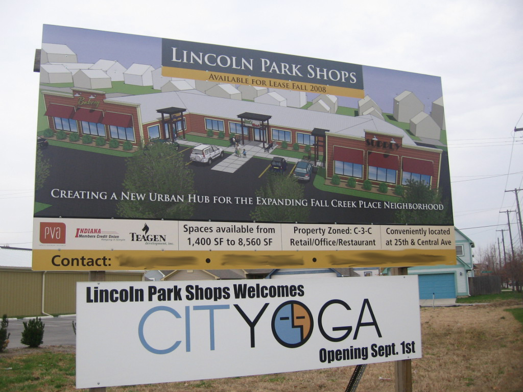 the �repurposed� Lincoln Park Shops has only been finished a few weeks.