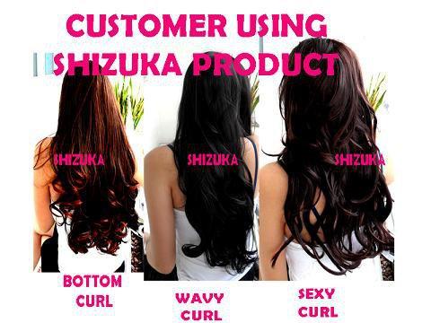 Terdiri dari model: Bottom curl, Wavy Curl, dan Sexy Curl (panjang ...