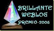 """Premio: """"Brillante Web Blog 2008"""""""