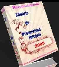PREMIO RECONOCIMIENTO ANUARIO DE PROSPERIDAD INTEGRAL 2008
