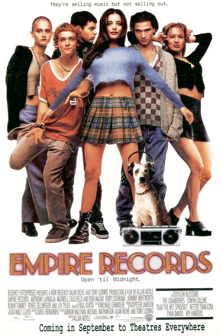 EmpireRecords 3 whole days of getting to wear the costume … yesterday's party … today's ...