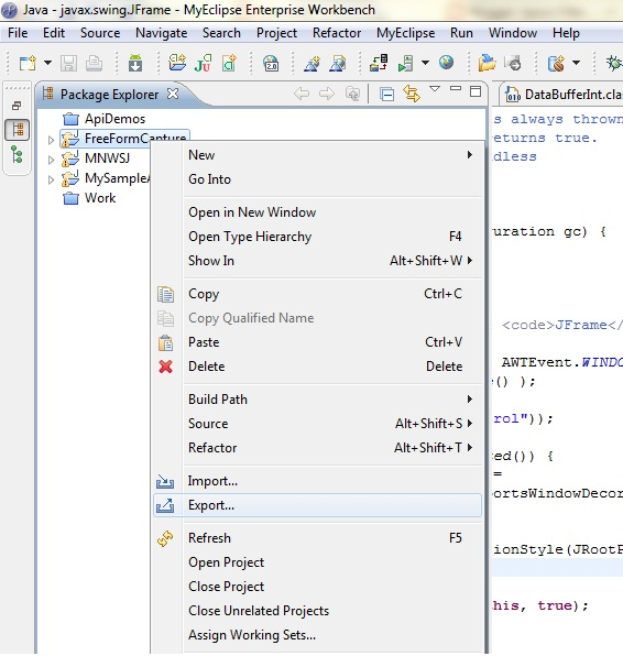 how to create jar file in eclipse