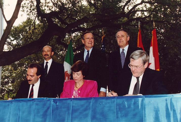 the effects of the ratified nafta on relations with mexico and canada A status report on the north american free trade agreement renegotiation  mexico and canada have adhered to the north  mexico and the us have ratified.