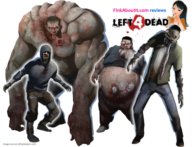 """Left 4 Undead"" And the Band Members would be named after the 4 main zombies"