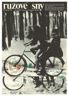 Originální plakát k filmu Ružové sny,