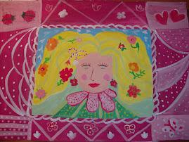 Primavara pictata de Maria