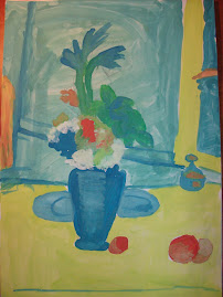 Cezanne... repictat de Maria
