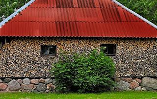 Maison faite de bois