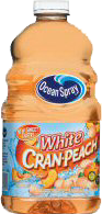 White Cranberry Peach Ocean Spray