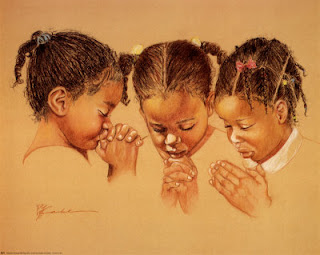 Black Girl Praying