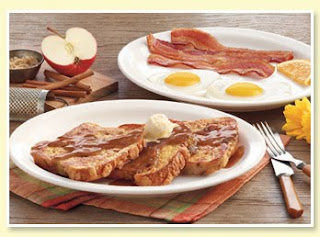 Cracker Barrel Apple Streusel French Toast