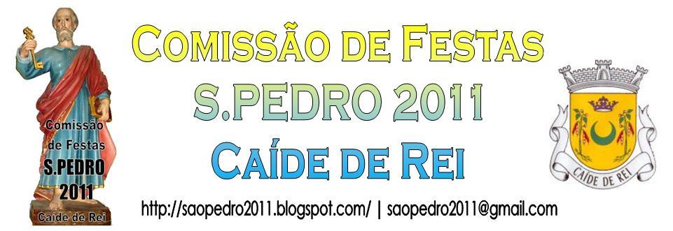 Comissão de Festas S.PEDRO 2011 - Caíde de Rei