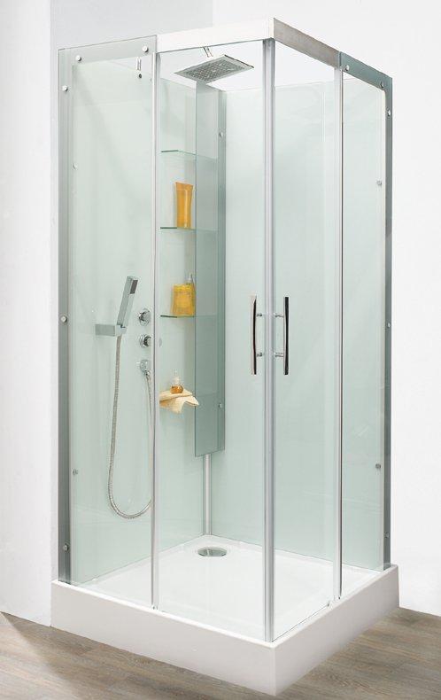 Aqualys burdin bossert prolians besancon cabine de douche for Cabine de douche ou douche classique