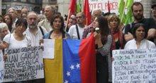 Solidaridad con el pueblo hondureño en Barcelona