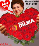 "DILMA DIZ QUE AMA OS EDITORES DO ""BLOG DA DILMA"""