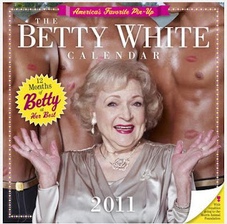 Betty White 2011 Wall Calendar