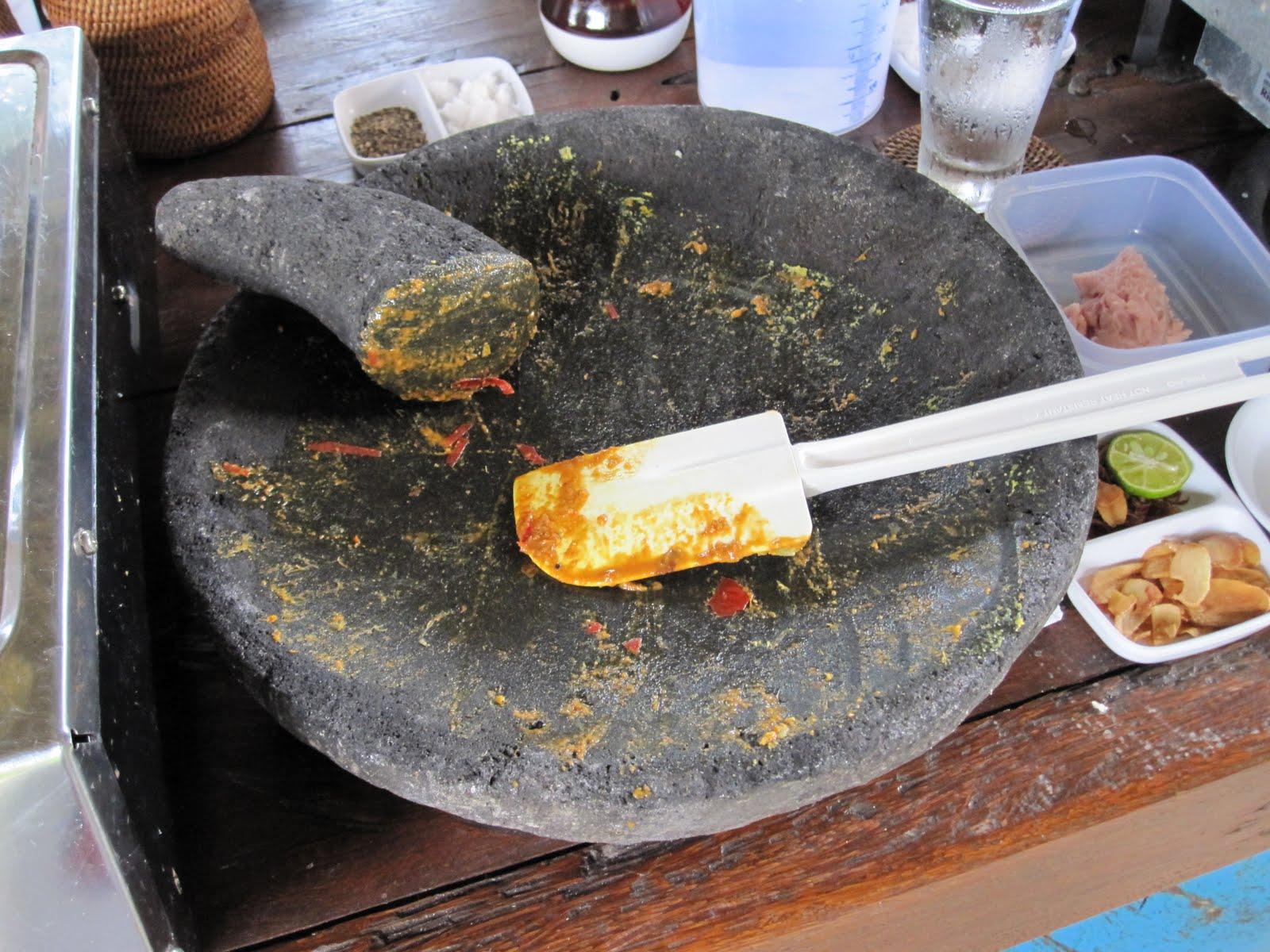 Balinese Kitchen Equipment