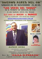 Cartel de promoción Alfredo Rocha