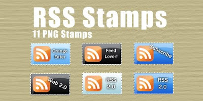 RSS stamp icons