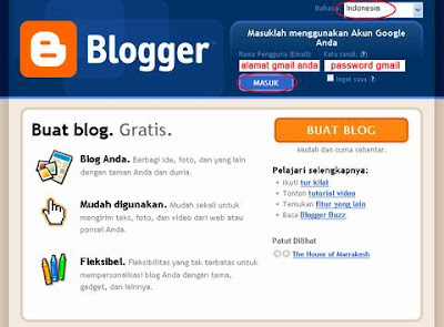 blogger menu
