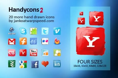 Handycons2 - hand drawn icon set
