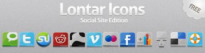 Lontar Icon Social Site