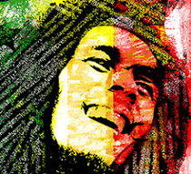 Bob Marley tipogrfico