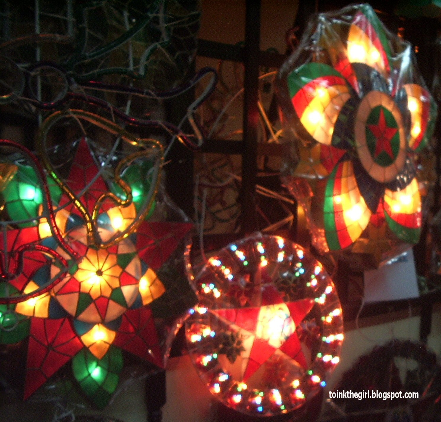 Toink Girl S Views Philippine Christmas Lanterns Galore