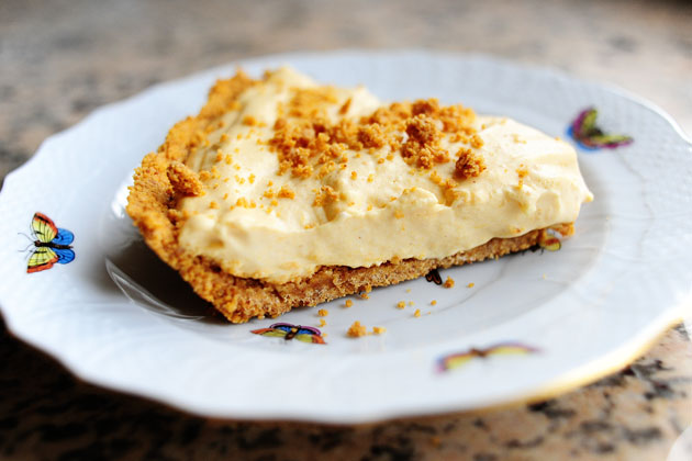 Pumpkin Cream Pie from The Pioneer Woman