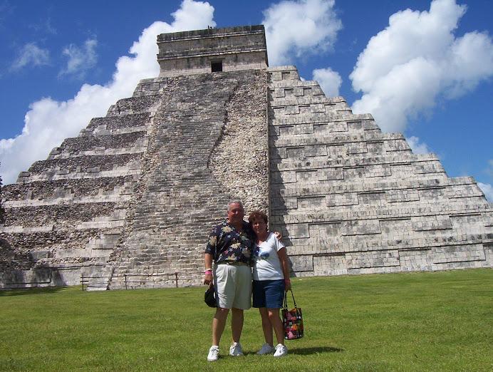 La piramide de Chichen Itza