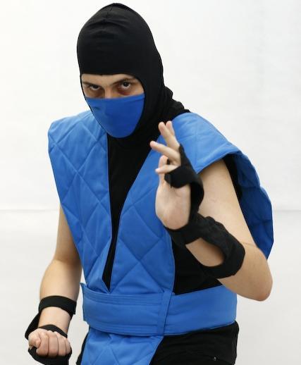 classic sub zero costume. mortal kombat sub zero costume