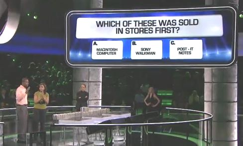 Game show follies: Money Drop oopsie?