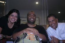 Juliana Sôlha, Marcus Kinder e Moisés Di Souza